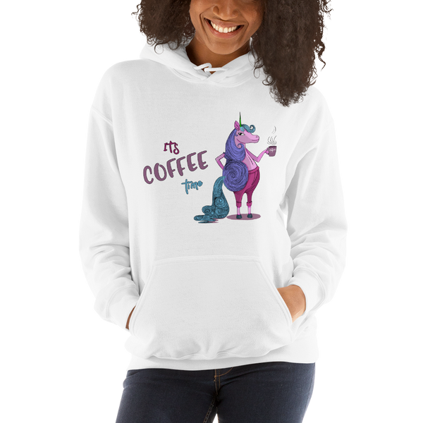 Its Coffee Time064 Hooded Sweatshirt