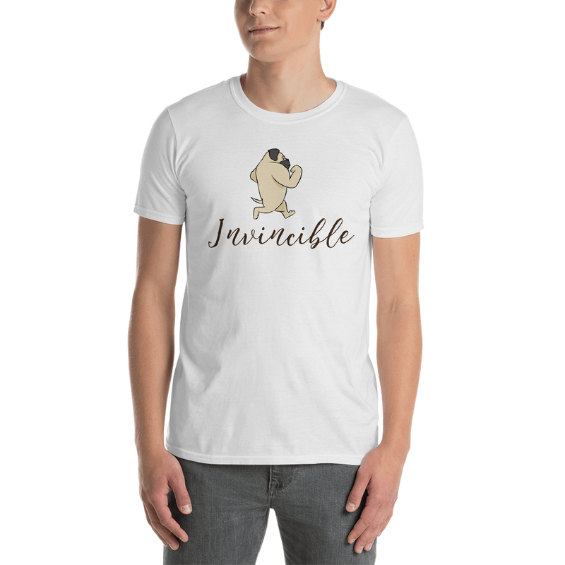 Invincible010 Gildan 64000 Unisex Softstyle T-Shirt with Tear Away Label