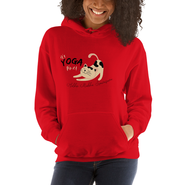 It's Yoga Time011 Gildan 18500 Unisex Heavy Blend Hooded Sweatshirt Heavy blend