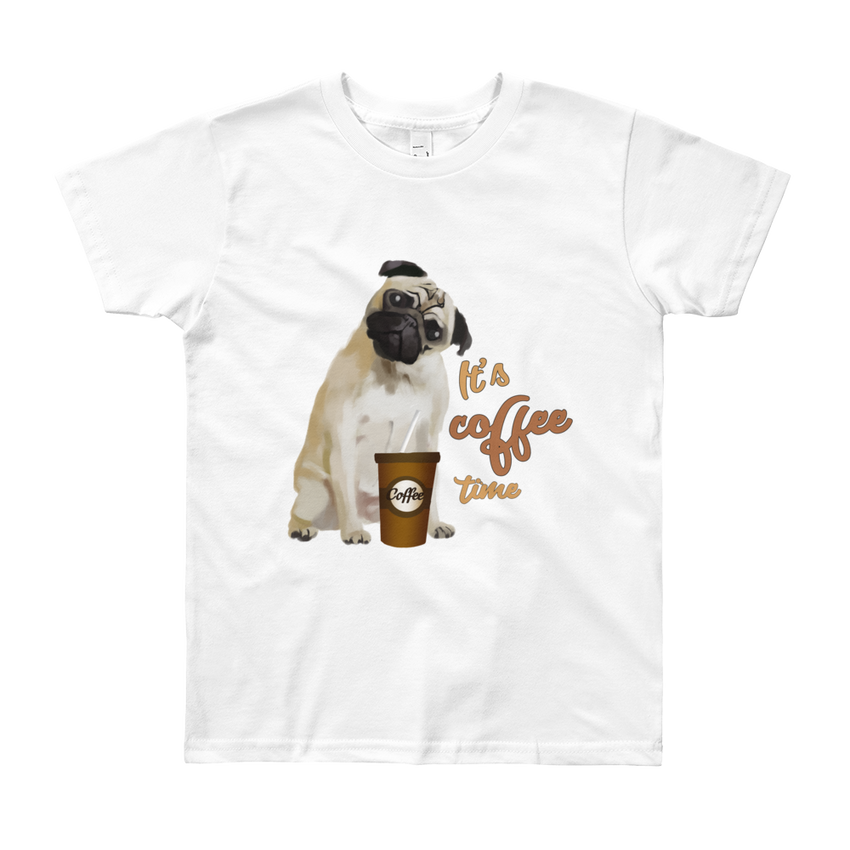 Its Coffee Time23 Youth Short Sleeve T-Shirt