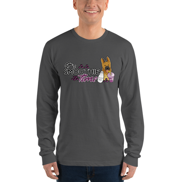 It's smoothie time05 Gildan 2400 Ultra Cotton Long Sleeve T-Shirt