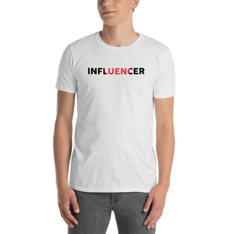 Influencer0051 Gildan 64000 Unisex Softstyle T-Shirt with Tear Away Label