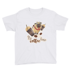 Its Coffee Time18 Youth Short Sleeve T-Shirt