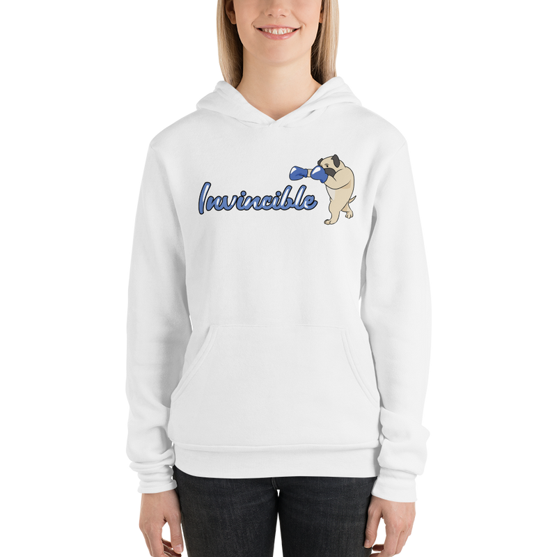 Invincible004 Bella + Canvas 3719 Unisex Fleece Pullover Hoodie