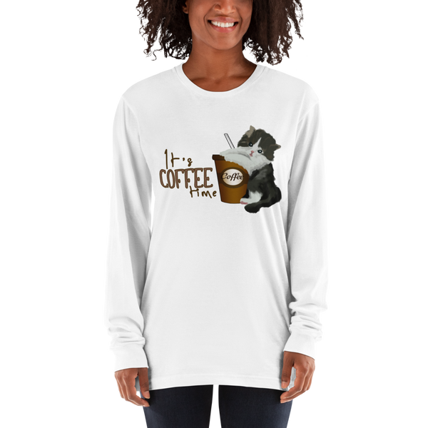 Its Coffee Time02 Long sleeve t-shirt