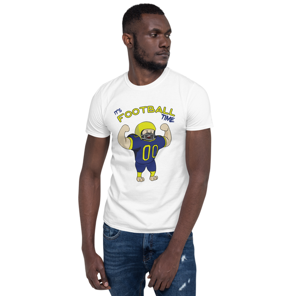 It's Football Time10 Gildan 64000 unisex softstyle Softsyle