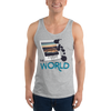 Explore The World0025 Bella + Canvas 3480 Unisex Jersey Tank with Tear Away Label