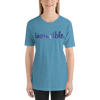 Invincible006 Bella + Canvas 3001 Unisex Short Sleeve Jersey T-Shirt with Tear Away Label
