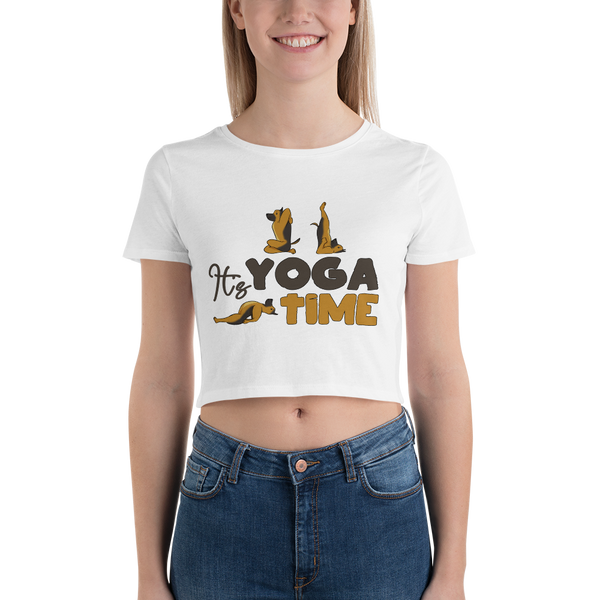 IT'S YOGA TIME T-SHIRTS