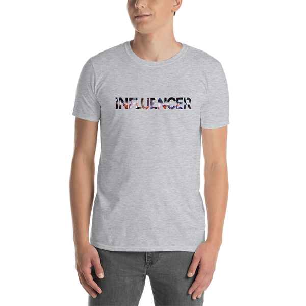 Influenecer0167 Gildan 64000 Unisex Softstyle T-Shirt with Tear Away Label