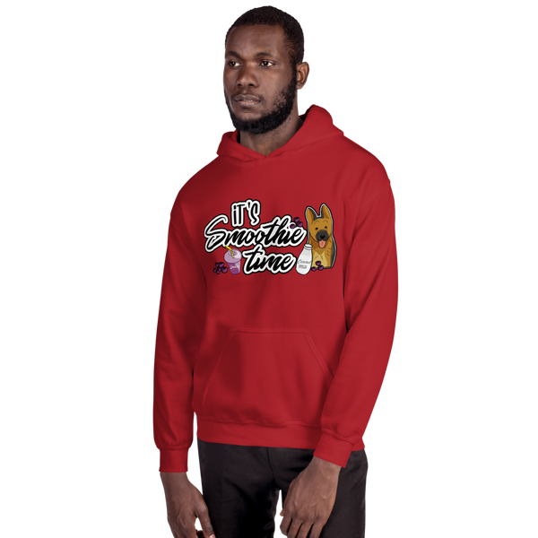 It's smoothie time04 Gildan 18500 Unisex Heavy Blend Hooded Sweatshirt