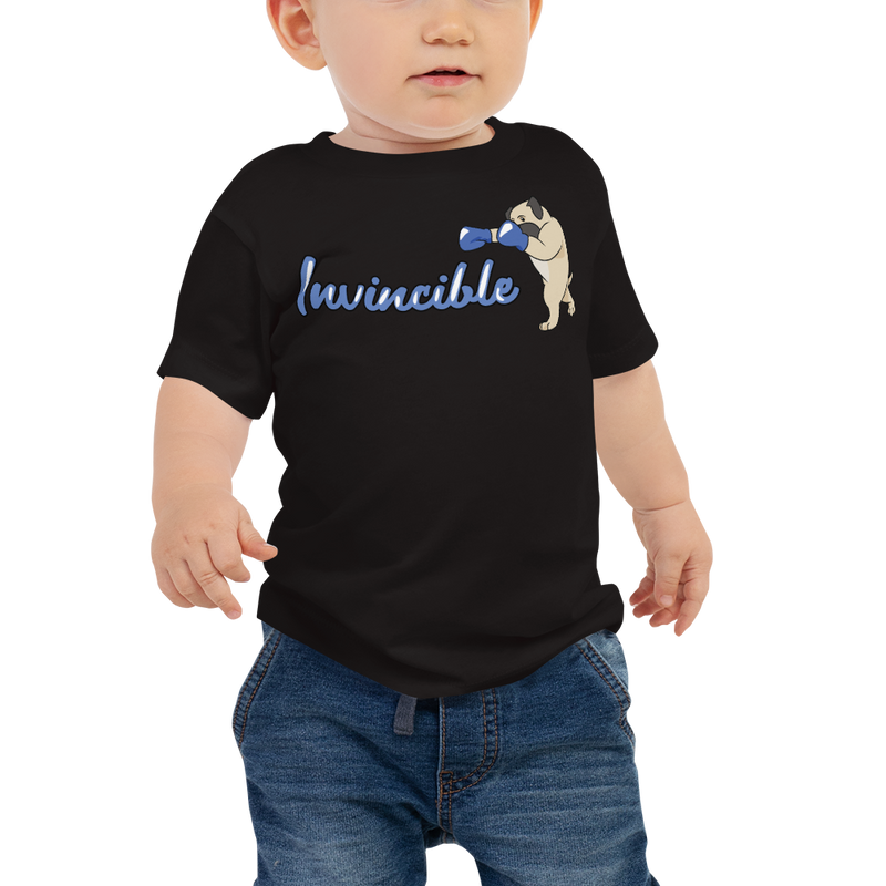 Invincible004 Bella + Canvas 3001B Baby Jersey Short Sleeve Tee with Tear Away Label