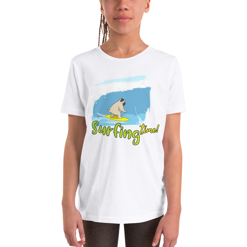 It's surfing time! 02 Youth Short Sleeve T-Shirt