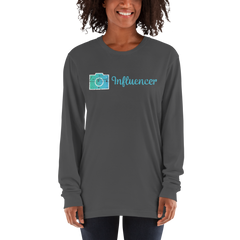 Influencer69 American Apparel 2007 Unisex Fine Jersey Long Sleeve T-Shirt Comfy style