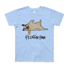 Its Coffee Time39 Youth Short Sleeve T-Shirt