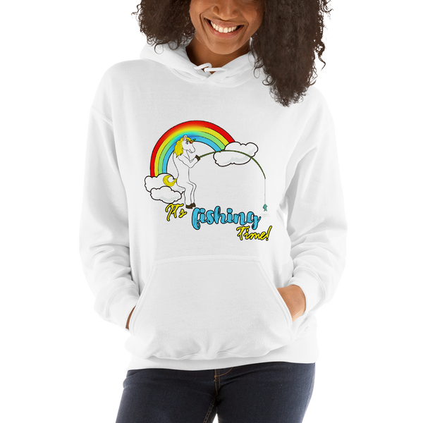 It's Fishing time! Women Hoodies