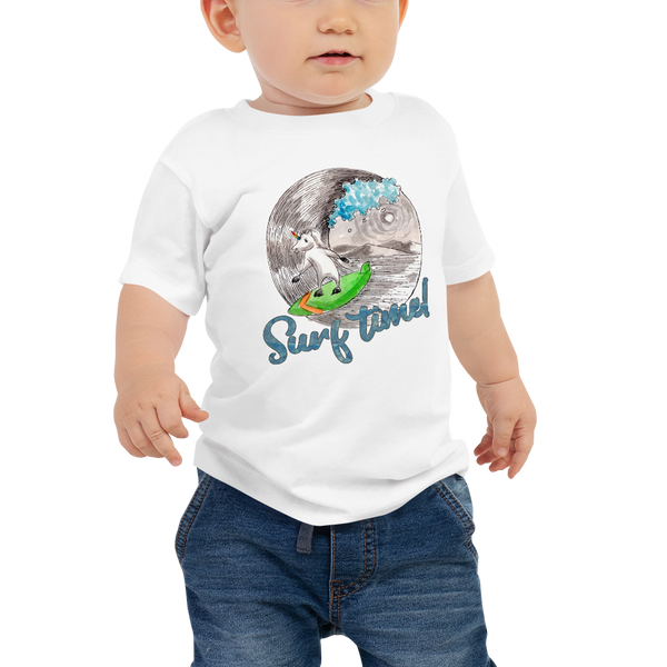 It's surfing time! 01 Baby Jersey Short Sleeve Tee