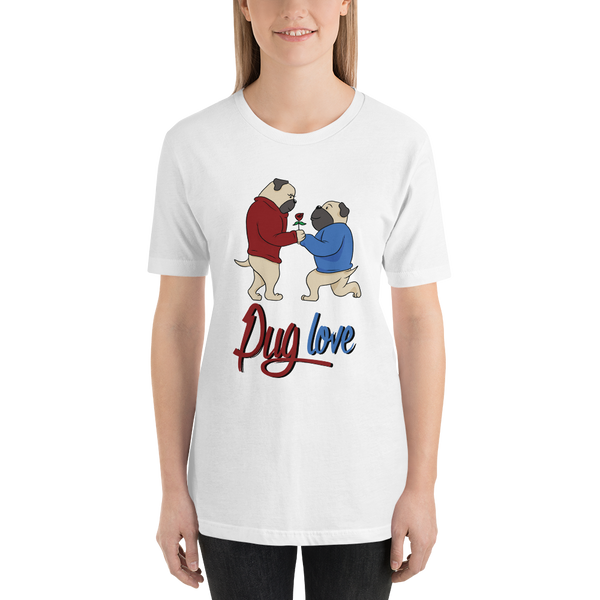 Pug luv Women T-Shirts