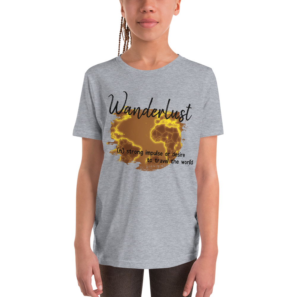 Wanderlust120 Youth Short Sleeve T-Shirt