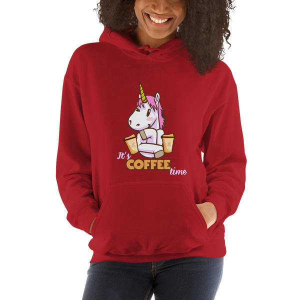 Its Coffee Time051 Hooded Sweatshirt