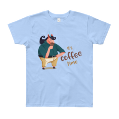 Its Coffee Time63 Youth Short Sleeve T-Shirt