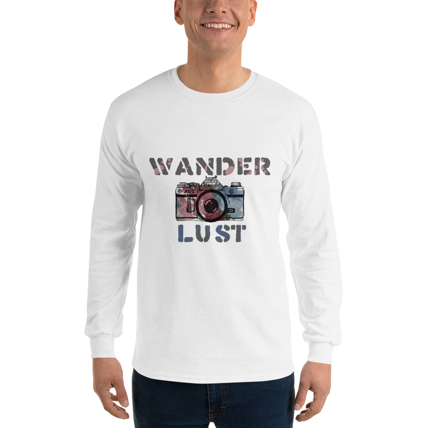Wanderlust97 Gildan 2400 Ultra Cotton Long Sleeve T-Shirt