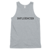 Influencer004 American Apparel 2408 Fine Jersey Tank Top Unisex