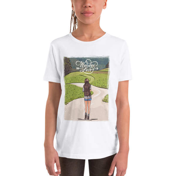 Wanderlust105 Youth Short Sleeve T-Shirt