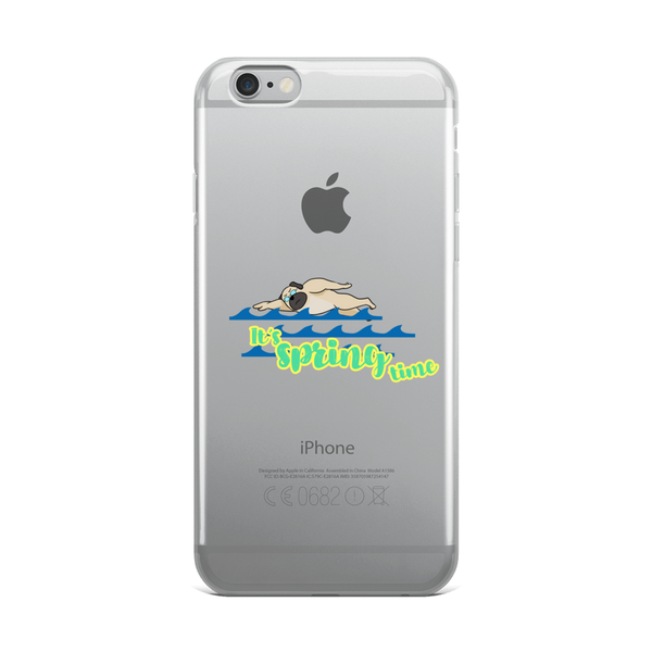 It's Swimming Time01 iPhone Case