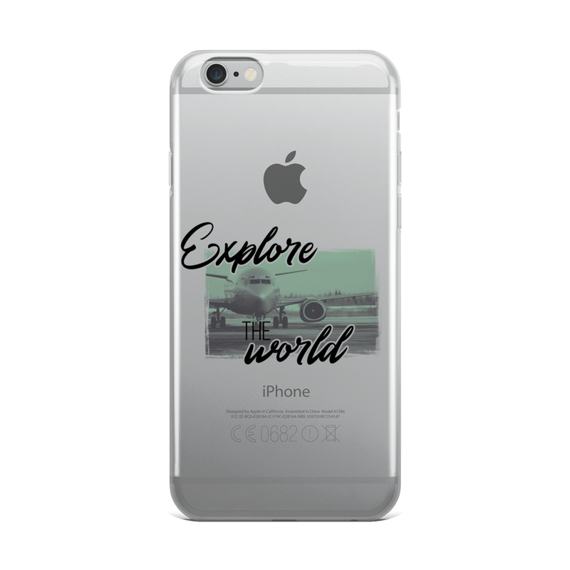 Explore The World0013 iPhone Case - libitalux