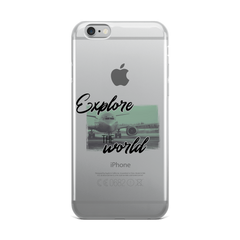 Explore The World0013 iPhone Case