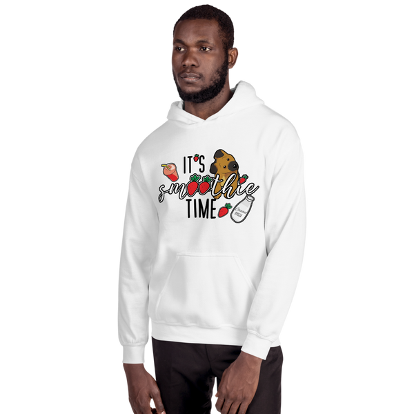 It's smoothie time06 Gildan 18500 Unisex Heavy Blend Hooded Sweatshirt
