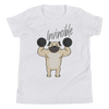 Invincible005 Bella + Canvas 3001Y Youth Short Sleeve Tee with Tear Away Label