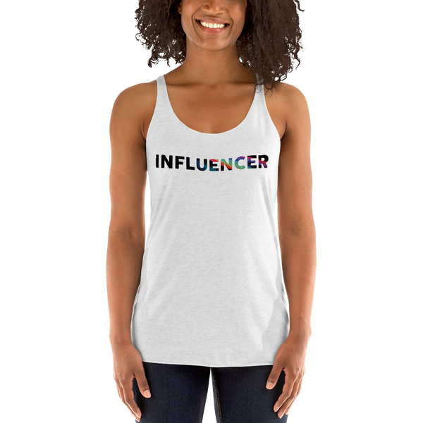 Influencer055 Next Level 6733 Ladies' Triblend Racerback Tank Triblend Racerback Tank