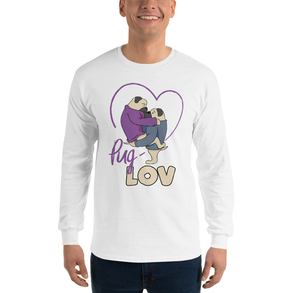 Pug Love11 Gildan 2400 Ultra Cotton Long Sleeve T-Shirt