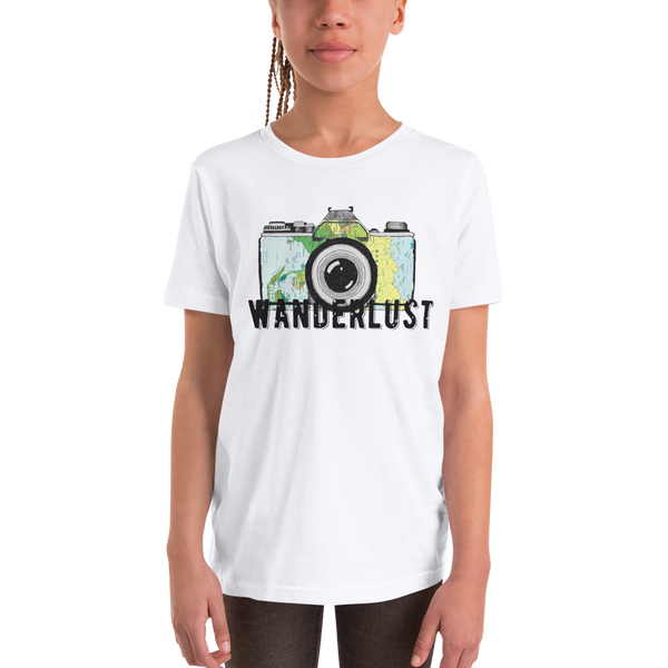 Wanderlust101 Youth Short Sleeve T-Shirt
