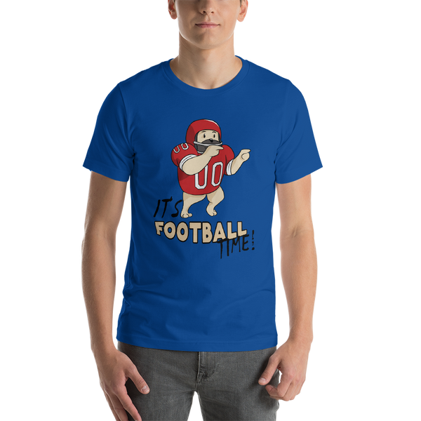 It's Football Time19 Bella + canvas 3001 unisex  Jersey Style