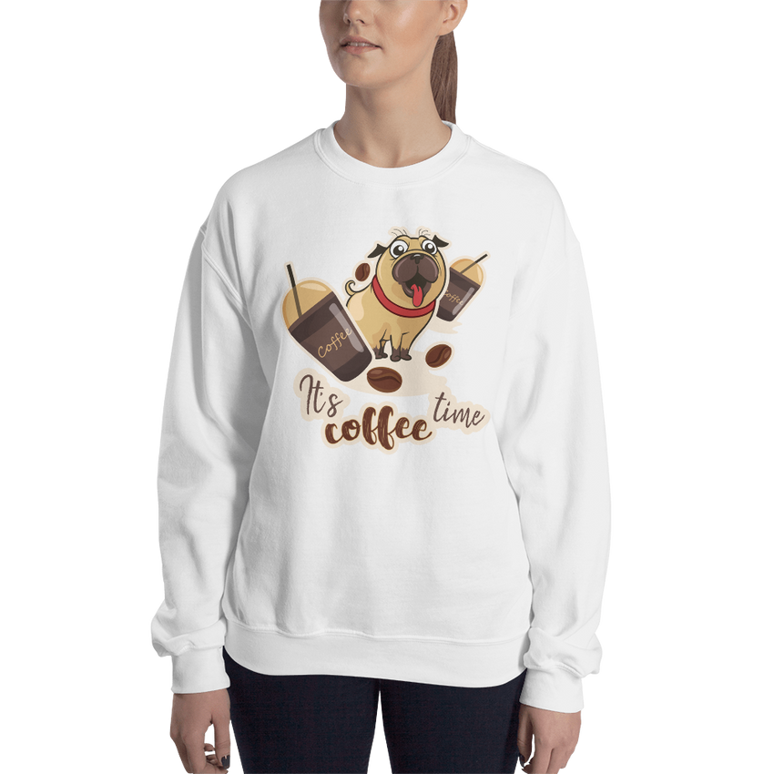 Its Coffee Time018 Sweatshirt