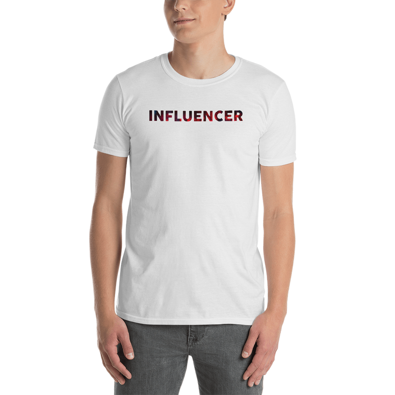 Influencer0046 Gildan 64000 Unisex Softstyle T-Shirt with Tear Away Label