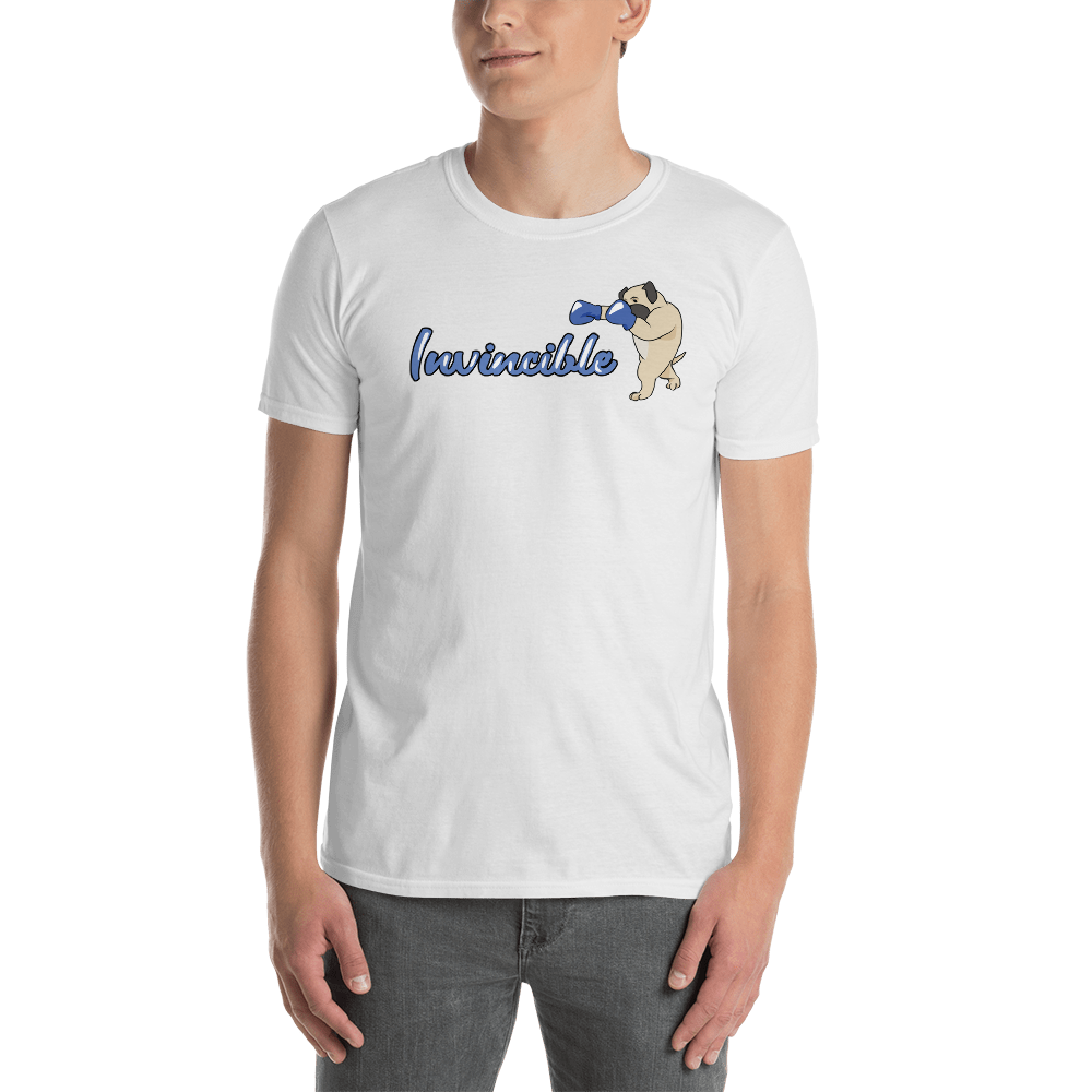 Invincible004 Gildan 64000 Unisex Softstyle T-Shirt with Tear Away Label
