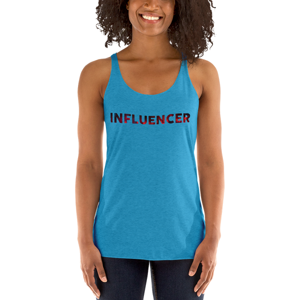 Influencer046 Next Level 6733 Ladies' Triblend Racerback Tank Triblend Racerback Tank