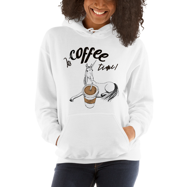 Its Coffee Time066 Hooded Sweatshirt