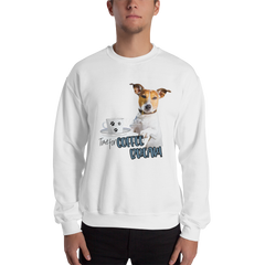 It's Coffee Time052 Gildan 18000 Unisex Heavy Blend Crewneck Sweatshirt