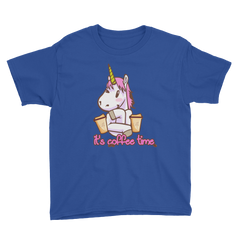 Its Coffee Time01 Youth Short Sleeve T-Shirt