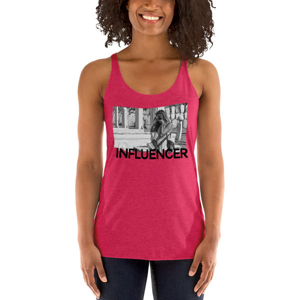 Influencer053 Next Level 6733 Ladies' Triblend Racerback Tank Triblend Racerback Tank