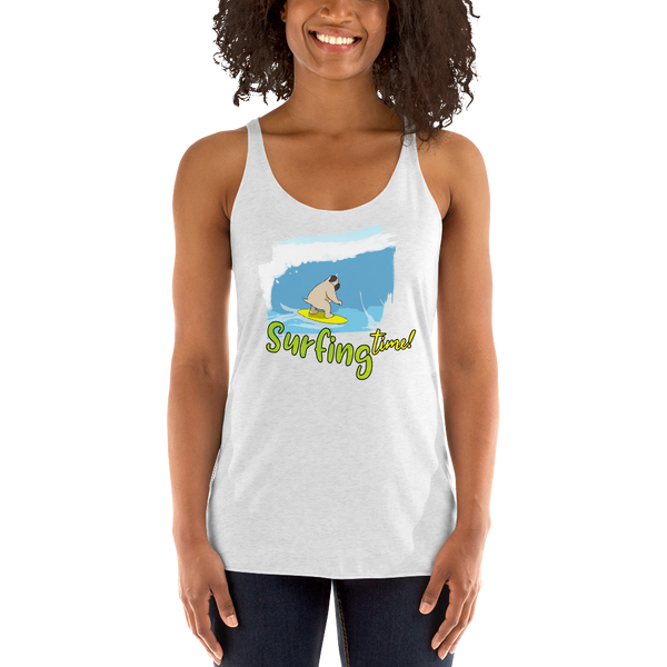 It's Surfing time! Women Tank Tops