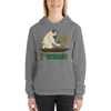 Go Organic003 Bella + Canvas 3719 Unisex Fleece Pullover Hoodie