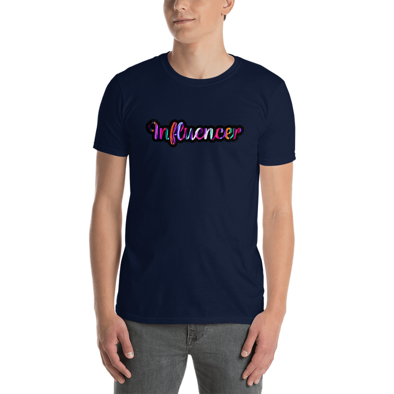 Influencer0037 Gildan 64000 Unisex Softstyle T-Shirt with Tear Away Label