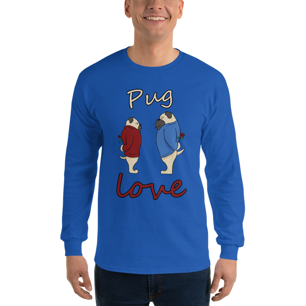 Pug Love08 Gildan 2400 Ultra Cotton Long Sleeve T-Shirt