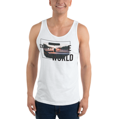 Explore The World0017 Bella + Canvas 3480 Unisex Jersey Tank with Tear Away Label